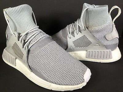 980b4ddbf Adidas NMD XR1 Winter Grey White PK Boost Mens Size 8.5 Rare BZ0633