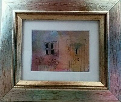 Framed ACEO card by John Devitt