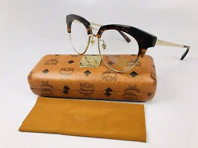 New Authentic MCM2106 214 Havana & Gold Eyeglasses 52mm with Case & Cloth