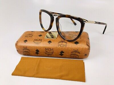 New Authentic MCM2640 214 Havana & Gold Eyeglasses 52mm with Case & Cloth