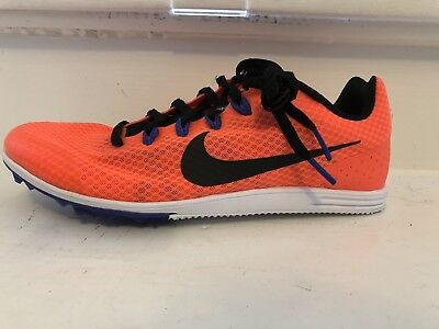 half off 9e3fb b85c2 Nike Zoom Rival D 9 Distance Track À piques Homme Flywire Corail PDSF NEUF