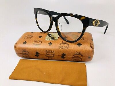 New Authentic MCM2628A 229 Havana & Black Eyeglasses 53mm with Case & Cloth