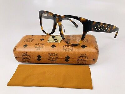 New Authentic MCM2622 214 Havana & Gold Eyeglasses 52mm with Case & Cloth