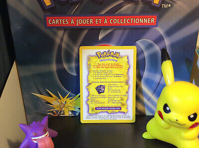 Carte Pokemon Info Services Support Wizards of the Coast Deck Set de Base Rare