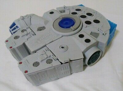Star Wars Galactic Heroes 2-In-1 Millennium Falcon Vehicle Playset WORKS RARE!!!
