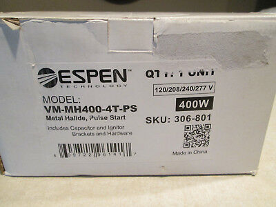 Espen Vm-Mh400-4T-Ps **New**