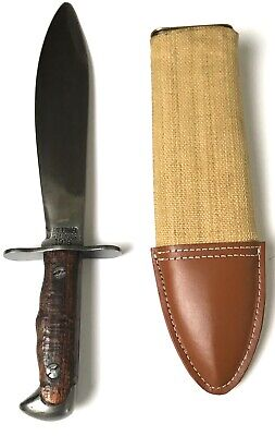 Wwi Us M1917 Bolo Knife & Carry Scabbard