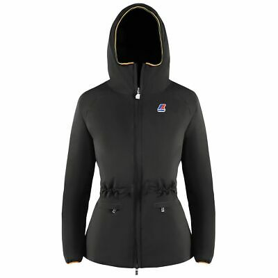 K-Way Coralie Thermo Stretch Black Abrigo