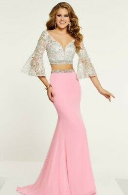Panoply Style 14883 Pink Multi Size 2 Prom Pageant Dress NWT!!!