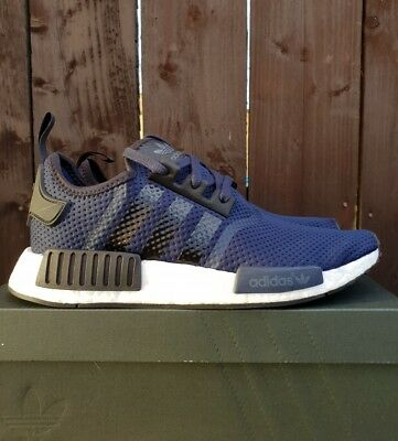 purchase cheap 861a5 d3c5c ADIDAS NMD R1 JD sports exclusive size 7 uk Navy blue/black BB1356