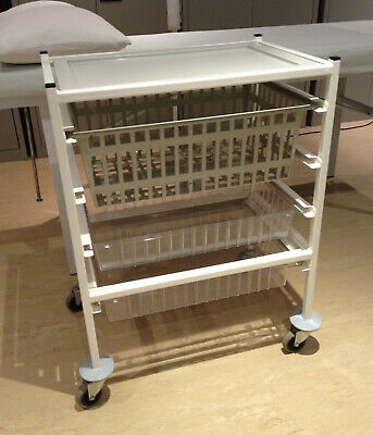 Systemed Stirling 3 Drawer Trolley, Medical, Beauty like Gratnells, Bristol Maid