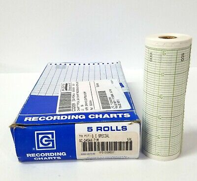 5 Graphic Controls Recording Charts to Fit G C Special GC-34544-T1M
