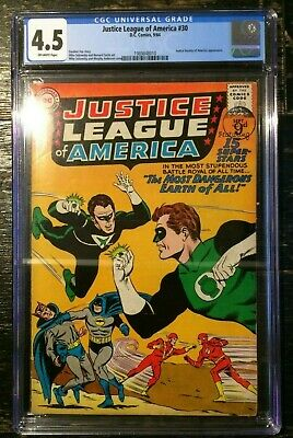 Justice League of America #30 CGC 4.5 Justice Society of America Appearance 1964