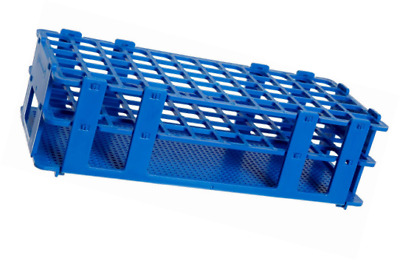 Bel-Art F18747-0001 No-Wire Test Tube Rack; 13-16mm, 60 Places, 9.7 x 4.1 x 2.5