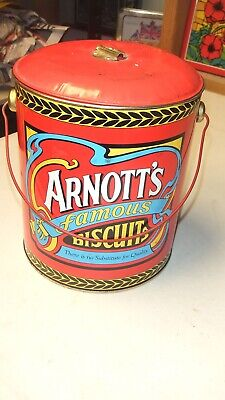 Collectable Arnotts famous Biscuit Tin