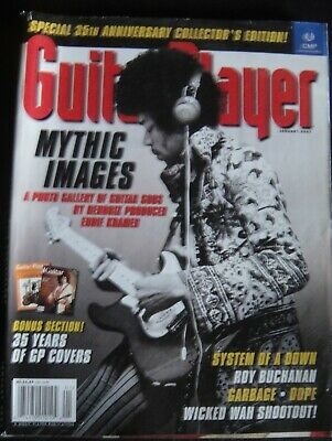 Guitar Player - 35th collector's edition-Jimi Hendrix