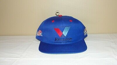 1528f3a40 NEW NASCAR VALVOLINE Racing Mark Martin 6 Snapback Trucker Hat Mens Vintage  Blue