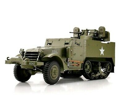 1:16 Torro U.S M16 Halftrack RC Truck 2.4GHz Anti-Aircraft Defense Quad Flak