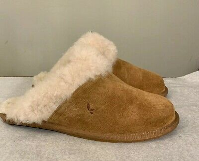 70010918bc2 KOOLABURRA BY UGG MILO 1015823 WOMAN CHESTNUT Slippers Size 6 AUTHENTIC New
