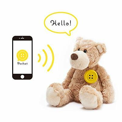 Pechat Bae chat also supports English button-type speaker for the stuffed animal