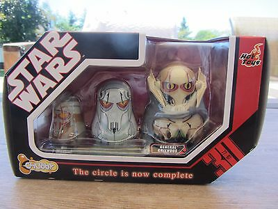 Star Wars - Chubby Figures, The Circle is now Complete  Grievous  NIB (716DJ34)