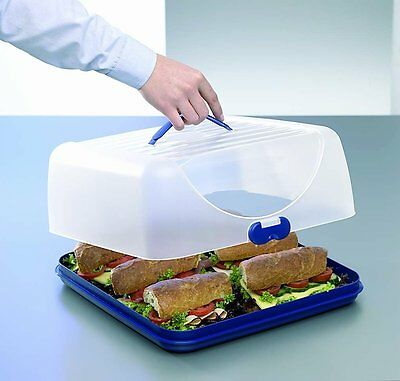 Cake Box Fresh Food Keeper Transport Container Event Party Tray Lid Bake Carrier