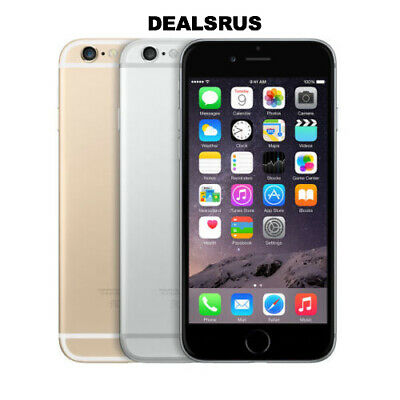 "Apple iPhone 6 64GB ""Factory Unlocked"" 4G LTE IOS Smartphone USED POOR CONDITION"
