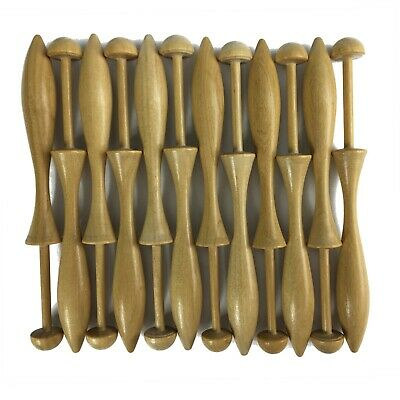 Bobbin Lace Bobbins | Danish Style 12 Pack Imported From  Belgium FREE SHIPPING