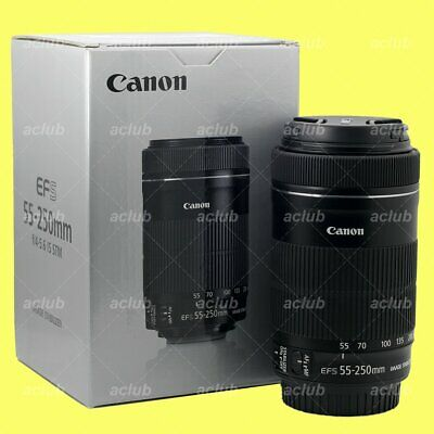Genuine Canon EF-S 55-250mm f/4-5.6 IS STM Image Stabilizer Lens