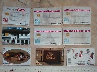 SERBIA PAY PHONE CARD payphone TELEPHONE BOOTH CALLBOX Knez Milos NATIONAL DRESS