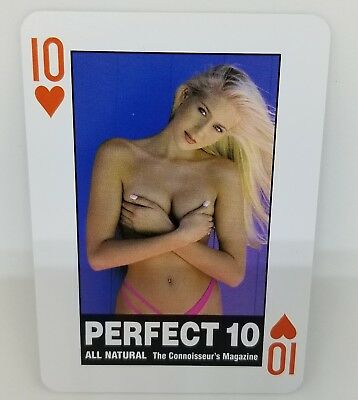 WORLD'S Most beautiful Girls Deck of Nude Models - 54 Coated Playing Cards