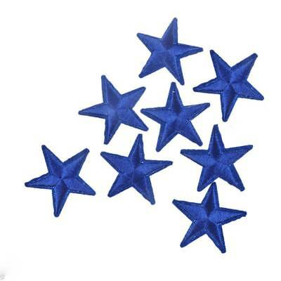 10pcs 4.2cm Star Embroidery Sew Iron On Patch Badge Clothes Applique Bag Fabric