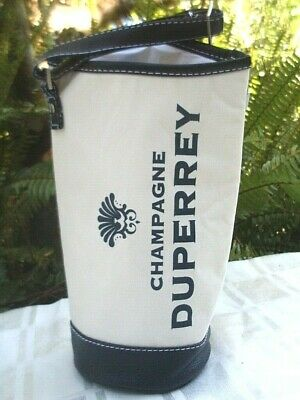Quality DUPERREY CHAMPAGNE Insulated Wine Carry Bag w/ Adjust Strap ADVERTISING