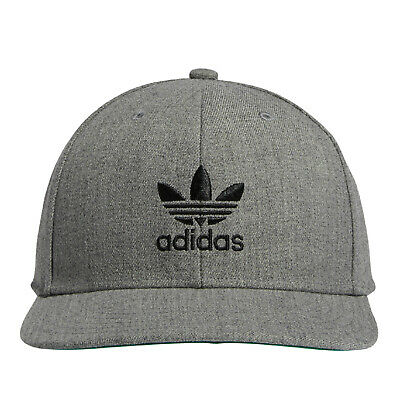 c0d3a0832d73e ADIDAS HEATHERED LOGO Hat Golf Cap 2018 Fitted New - Choose Color ...