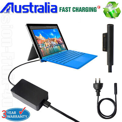 Power Supply AC Adapter for Microsoft Surface Pro 3 Pro 4 Book Charger Cord AU