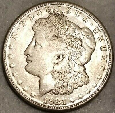 1921 S Morgan Silver Dollar    A68