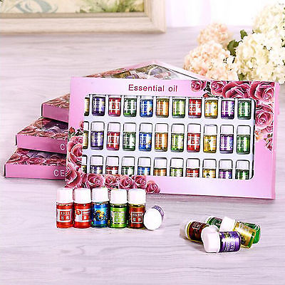 36 IN 1 Various Scents Kit Water-soluble Aromatherapy Essential Oil 3ml Set ,US