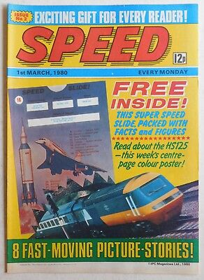 SPEED COMIC - 1 March 1980