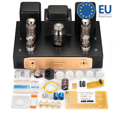 EL34 Single-Ended Stereo Tube Power Amplifier Kit DIY Amplificatore di potenza