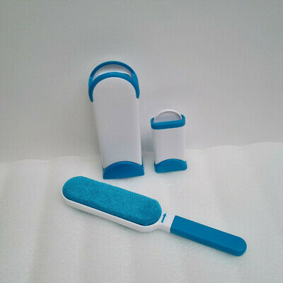 UK Stock Fur Lint Brush Sweep Pet Hair Fur Remover Clothes Fabric Cleaning Brush