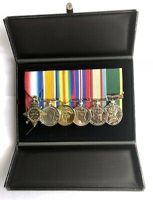 Medal Storage Box, Military Medals, WWI,WWII. Replica Medal