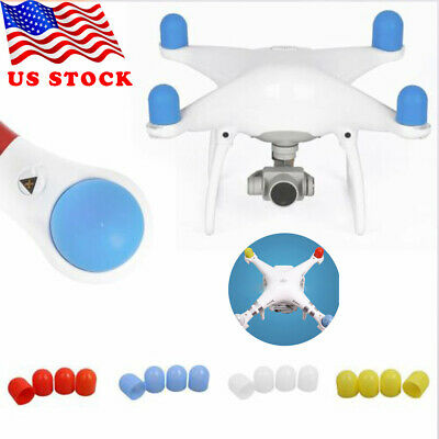 4x Silicon Motor Protective Guard Cap Cover Accessories for DJI Phantom 2//3//4