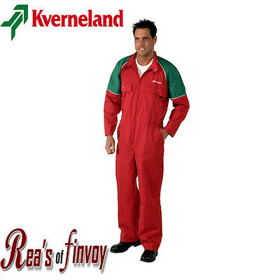 Kverneland Overalls/Boilersuit Red (Adult)