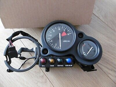 Kawasaki Genuine Nos Meter Assembly Clock Set 25001-1784 Missing Speedo Zxr750H