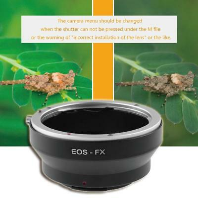 Aperture Control Canon Ring EOS EF EF-S Lens to FX for Fujifilm X-Pro1 Adapter