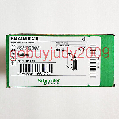 Brand New in box Schneider PLC module BMXAMO0410 1 year warranty