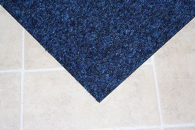 Blue Premium Carpet Tiles - 5m2 Commercial Domestic Office Heavy Use Flooring