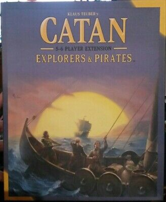 Catan: Explorers and Pirates 5-6 Player Extension Brand New