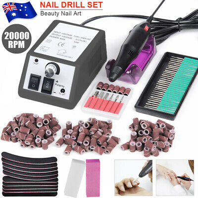 Professional Electric Nail File Drill Art Manicure Pedicure Shape Machine Tool