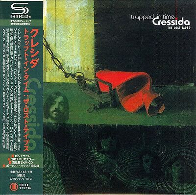 Cressida-Trapped In Time : The Lost Tapes-Japan Mini Lp Shm-Cd Bonus Track H25